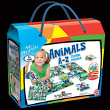 ANIMALS A-Z FLOOR PUZZLE
