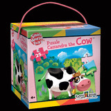 CASSANDRA THE COW 25-PIECE PUZZLE