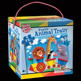 ANIMAL TRAIN 72-PIECE PUZZLE