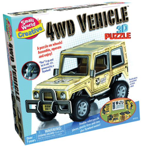 4WD VEHICLE PUZZLE