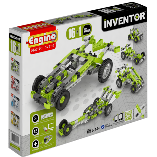 Inventor  16 Models Cars | By  Engino