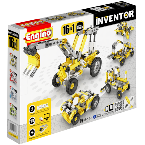 Inventor  16 Models Industrial | By  Engino
