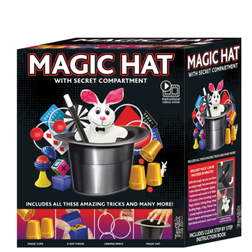 Ezama Magic Hat 125 Tricks - Magic Trick Set